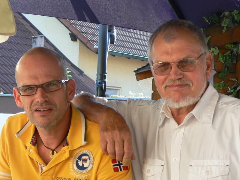 Ralf und Christian Wokel Sommerfest
